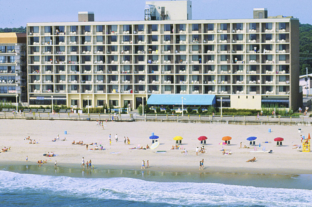barclay towers ocean view beach side view