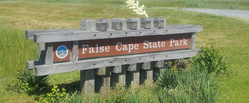 false cape state park sign