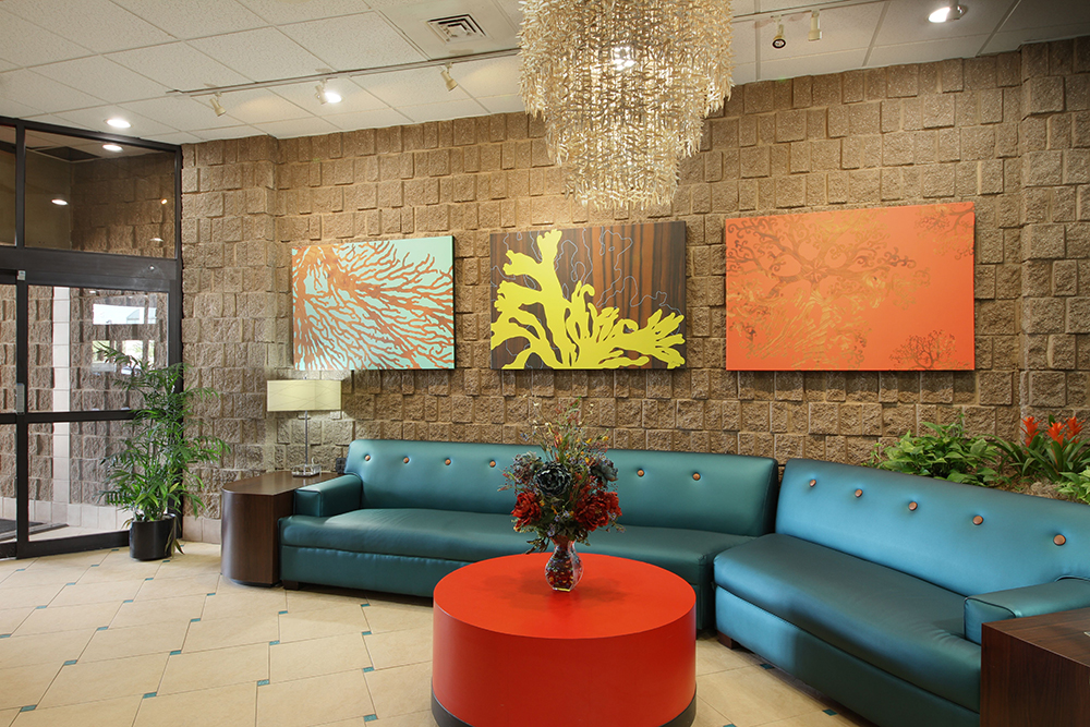 barclay towers lobby